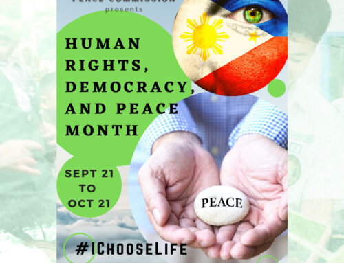Human Rights, Democracy and Peace Month celebration