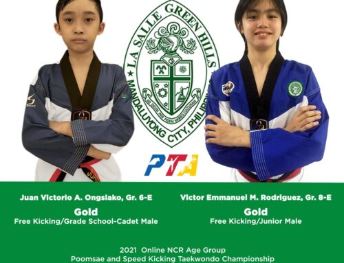 Rodriguez, Ongsiako win gold in NCR online taekwondo championship